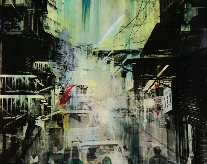 HONG KONG Urban Arch XXXV - Artwork by Sven Pfrommer