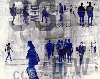 URBAN SENSOR V by Sven Pfrommer - Framed artwork is ready to hang