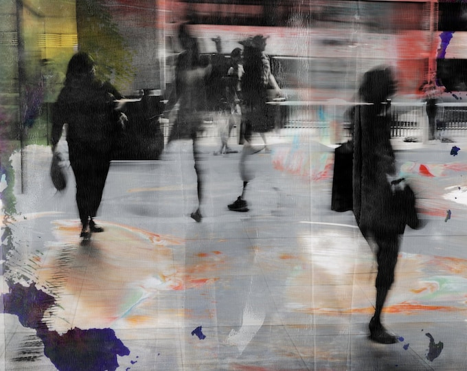 HK BLUR II - Photographic Art by Sven Pfrommer - Artwork is ready to hang
