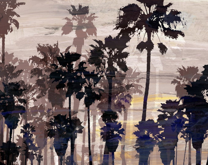 VENICE BEACH I by Sven Pfrommer - 140x70cm Artwork is ready to hang.