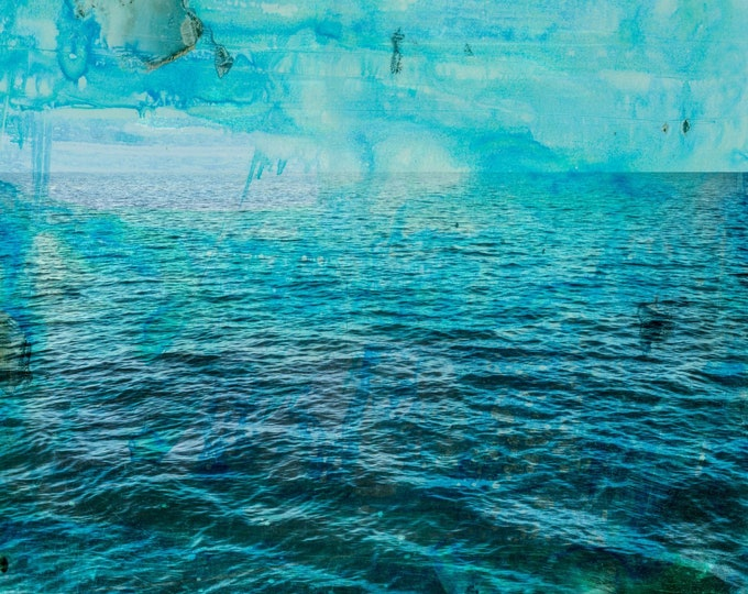 LA MER XXVIII - Artwork by Sven Pfrommer - from his Ocean - Series