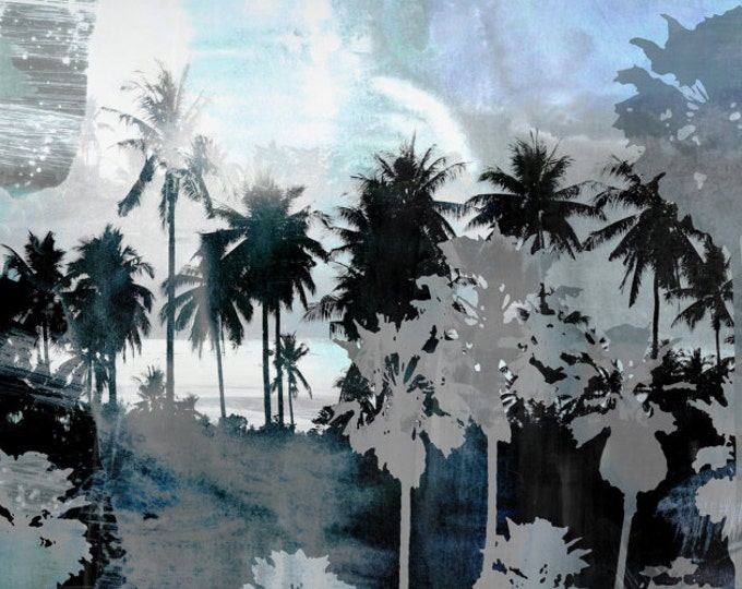 THE BEACH VII by Sven Pfrommer - 150x50cm Artwork is ready to hang