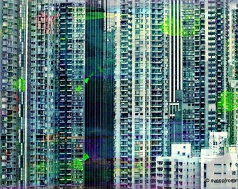 HONG KONG Sky VI by Sven Pfrommer - Artwork is ready to hang