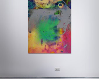 Abstract Scanography XXVI - by Sven Pfrommer - Artwork is framed and ready to hang