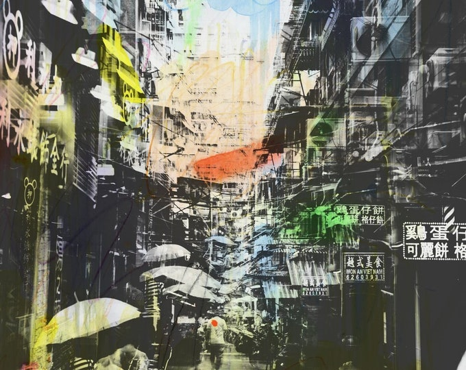 HONG KONG Urban Arch XXXVII - Artwork by Sven Pfrommer