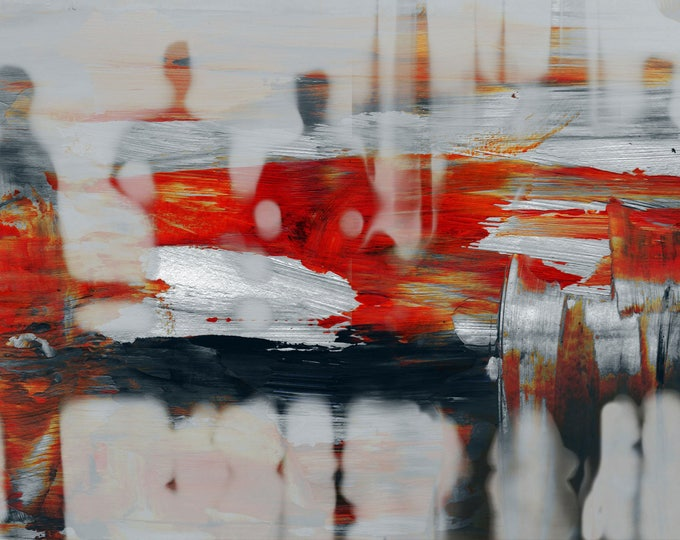BURMA BLUR XXV by Sven Pfrommer - Artwork is ready to hang