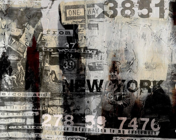 NEW YORK SUMMER by Sven Pfrommer - 140x70cm Artwork is ready to hang.