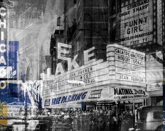 CHICAGO IV by Sven Pfrommer - Artwork is ready to hang