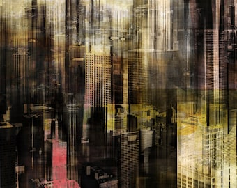 CHICAGO STYLE I by Sven Pfrommer - Artwork is ready to hang