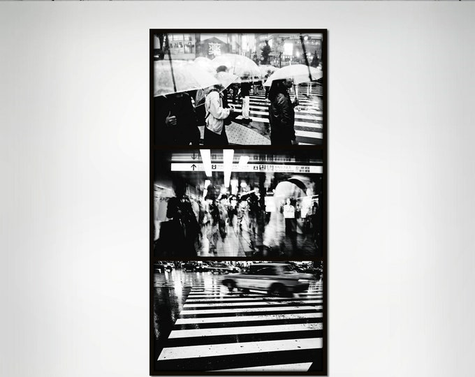 TOKYO CROSSING IV - Limited Edition of 3 Photograph by Sven Pfrommer