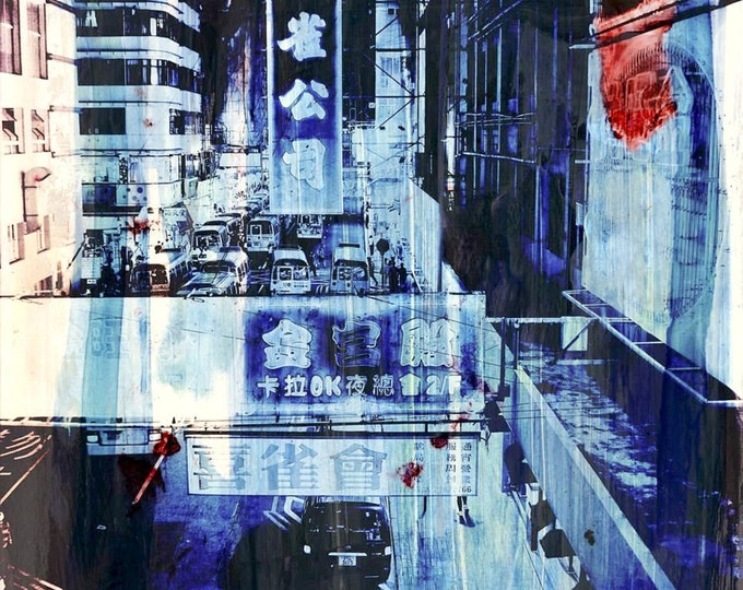 HONG KONG Streets VII by Sven Pfrommer - Artwork is ready to hang