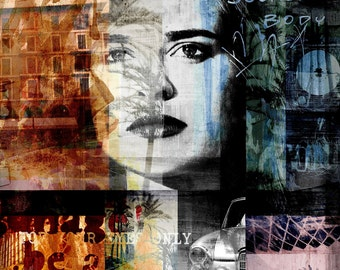 DIVA XVI by Sven Pfrommer - Artwork is ready to hang
