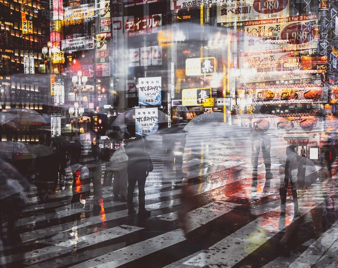 TOKYO NIGHTS III - by Sven Pfrommer - Artwork is ready to hang