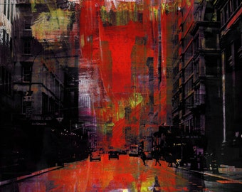NEWYORK COLOR XIV by Sven Pfrommer - 130x100cm Artwork is ready to hang.