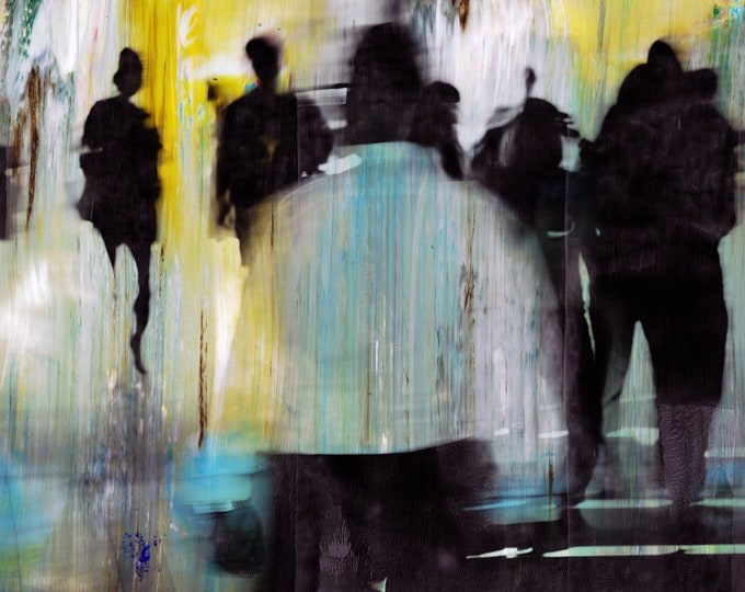 HK BLUR I - Photographic Art by Sven Pfrommer - Artwork is ready to hang
