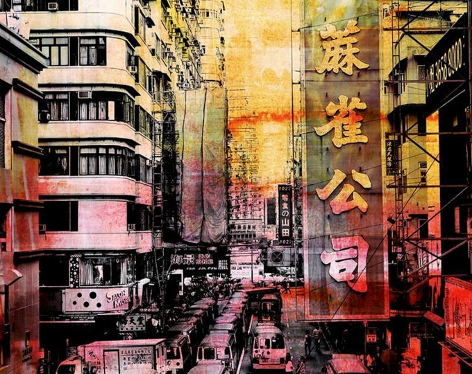 HONG KONG Streets IX by Sven Pfrommer - Artwork is ready to hang