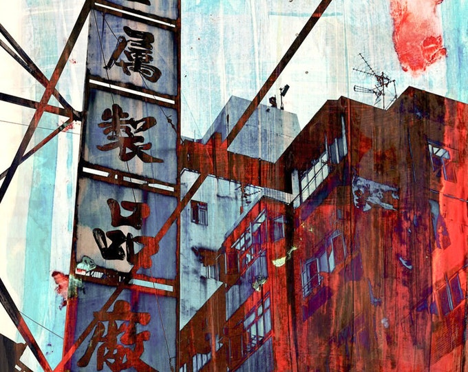HONG KONG FOCUS I by Sven Pfrommer - Artwork is ready to hang