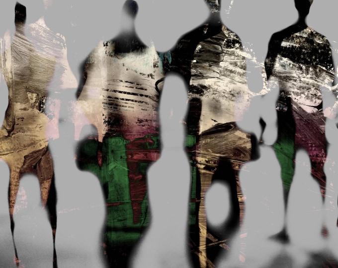 PENANG BLUR XIV - Artwork by Sven Pfrommer
