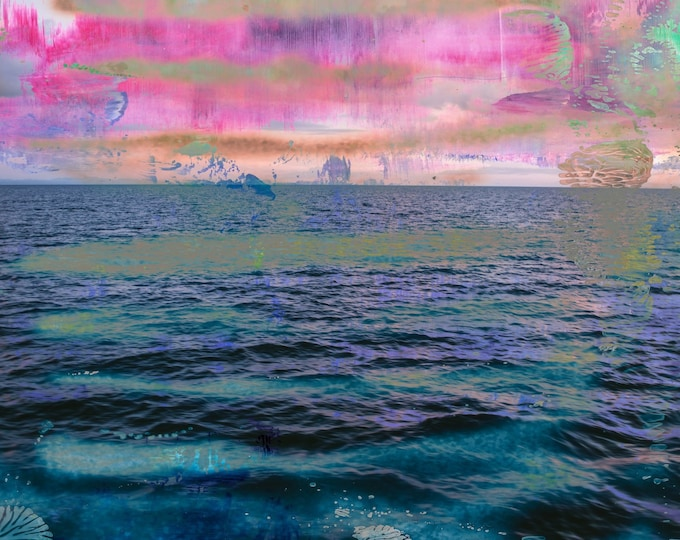 LA MER XXXI - Artwork by Sven Pfrommer - from his Ocean - Series