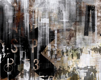 CHICAGO XXIV by Sven Pfrommer - Artwork is ready to hang