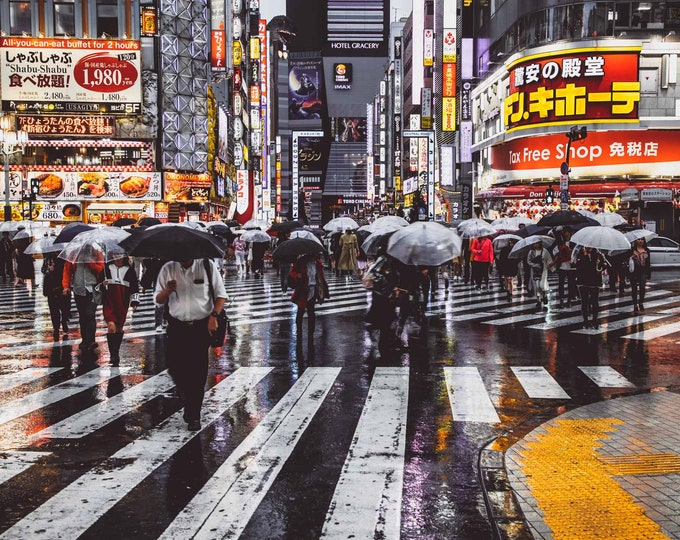 TOKYO NIGHTS II - by Sven Pfrommer - Artwork is ready to hang