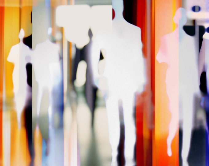 HUMANBLUR XX by Sven Pfrommer - Artwork is ready to hang