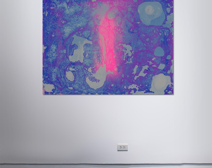 Abstract Scanography III - by Sven Pfrommer - Artwork is framed and ready to hang