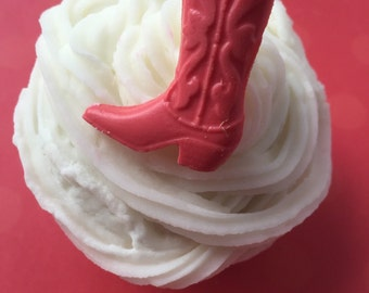 COWBOY BOOT Cupcake Topper (24), WESTERN Party, Cowgirl Cupcake Topper