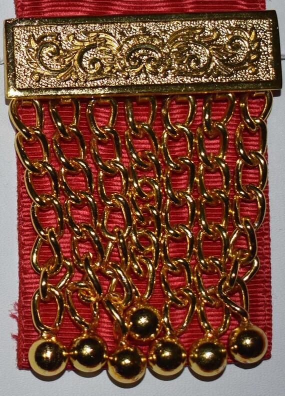 Masonic Master Masons Red Apron