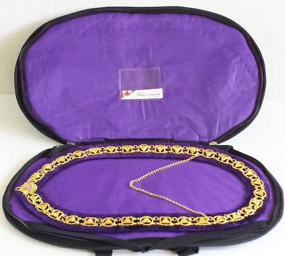 Masonic  Chain Collar Hard Case
