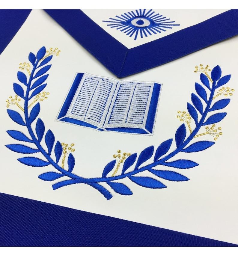Masonic Blue Lodge Officers Aprons Set of 12 Aprons
