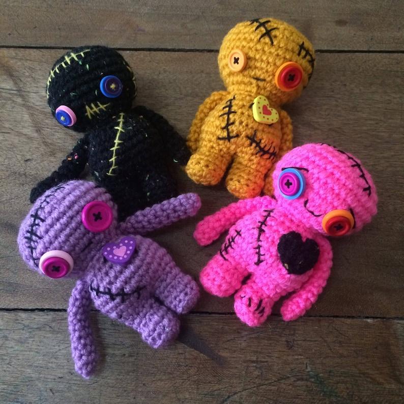Crochet Doll Pattern Voodoo Amigurumi Pattern Crochet Toy Etsy