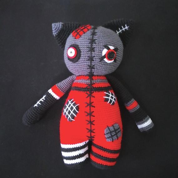 Ginger cat amigurumi pattern | Crochet cat pattern, Crochet ... | 570x570