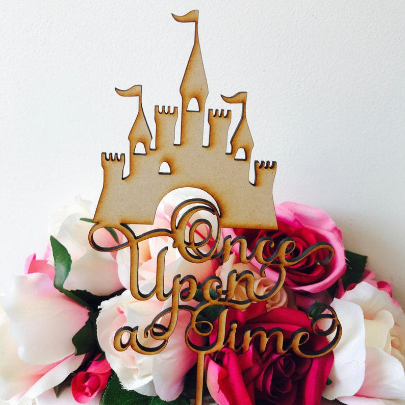 Once Upon A Time Cake Topper Decorations Cake Toppers Etsy