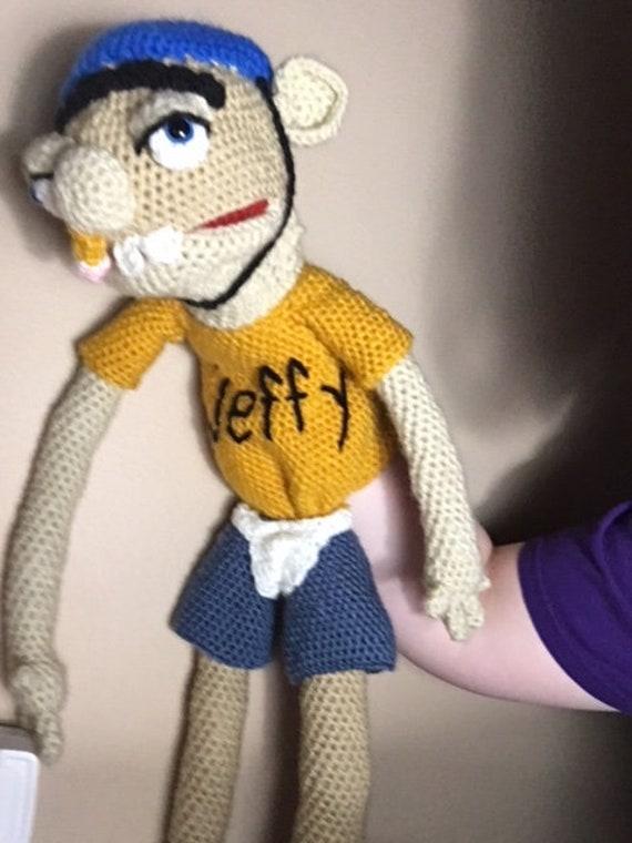 pattern digital download jeffy puppet from supermariologan etsy