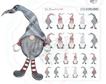 Gnome Planner Stickers - Little Helpers