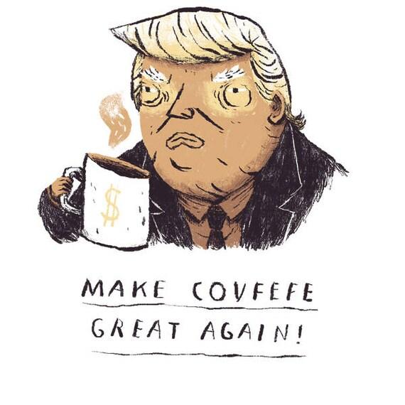 119b2a54 Make covfefe great again trump T-shirt / covfefe shirt / make | Etsy