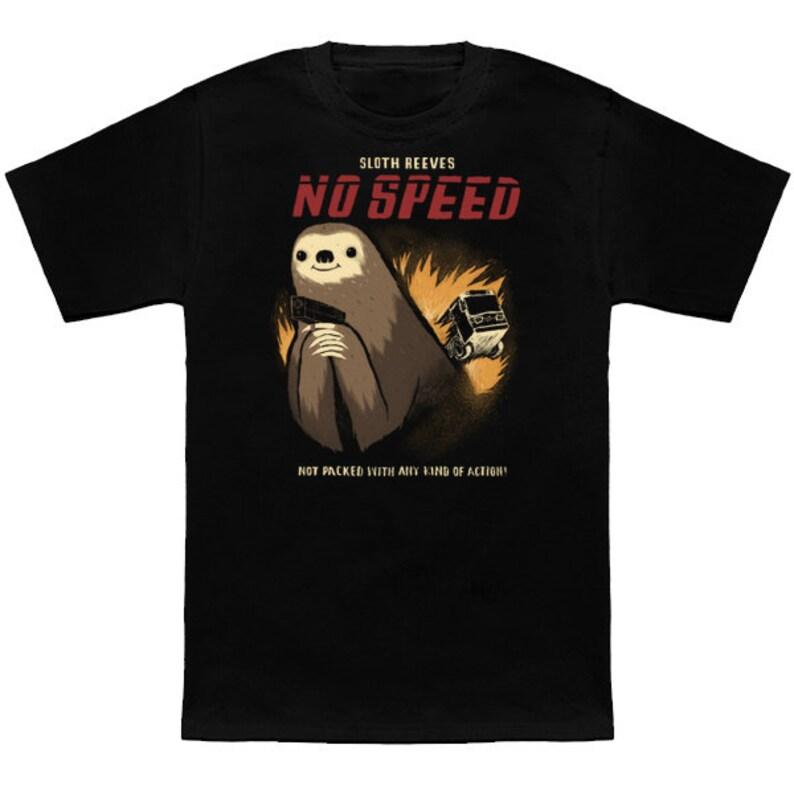 0ac686f6 No Speed sloth T-shirt / sloths tee / cute sloth T-shirt / | Etsy