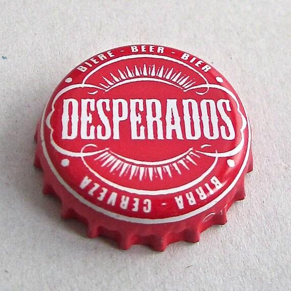 Desperados Bottle Top Badge Brooch Etsy