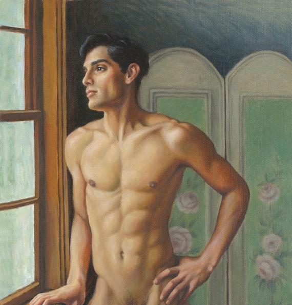 Easy Art Prints Leonardo Da Vinci's Anatomy Of A Male Nude Premium Canvas Art
