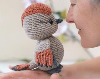 Crochet sparrow toy pattern - Amigurumi sparrow pattern - Sparrow home decoration - Nursery decor - LaCigogne design