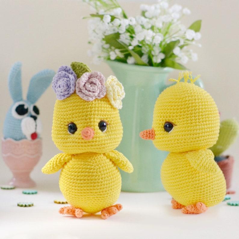 Cherry the chick Amigurumi crochet pattern  LaCigogne design image 0