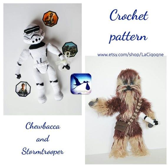 Ravelry: Chewbacca - Star Wars Mini Amigurumi pattern by Lucy ... | 570x570