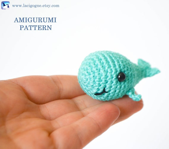 Moby Dick the Whale Crochet Pattern Whale Amigurumi Pattern | Etsy | 502x570