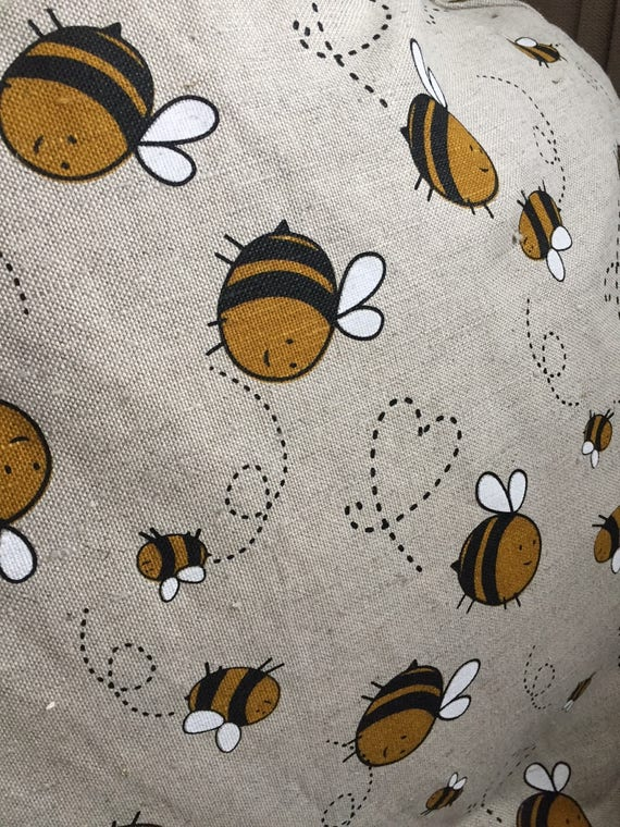 Phenomenal Adult And Kids Bean Bag Chair Bumble Bee Linen Eco Friendly Cover Natural Floor Pillow Seating With Cotton Insert Fill Is Not Included Forskolin Free Trial Chair Design Images Forskolin Free Trialorg