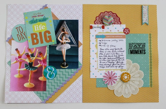 Scrapbook Cards Digital Printable Project Life Cards Etsy