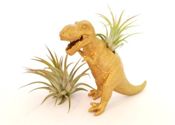 Awesome Dinosaur Planter Container Gardening Crafts Flowers How To