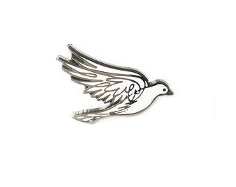 Peace Dove - Enamel Pin