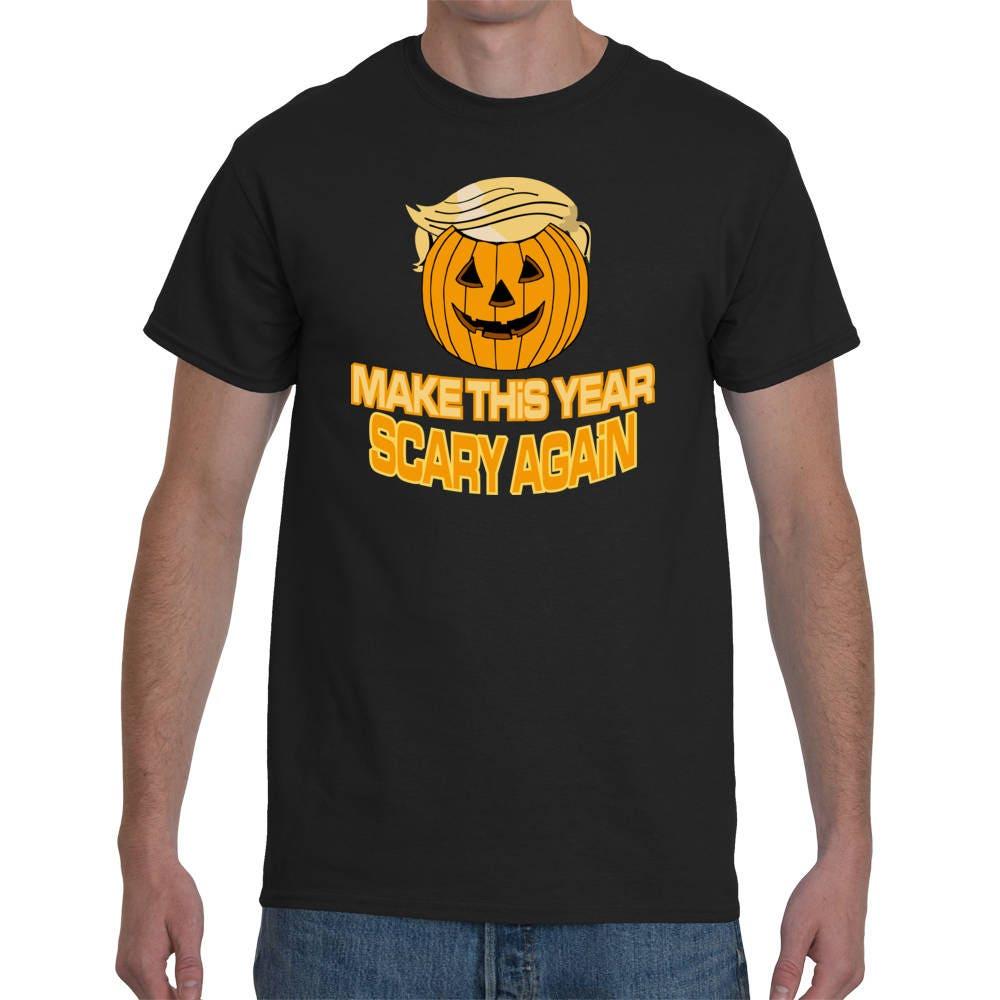 a75d91c40bc Halloween Trumpkin Funny T-Shirt Funny Halloween T-Shirts