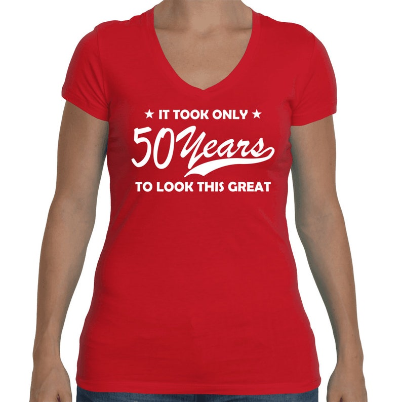 Funny 50 Years Old T Shirt 50th Birthday Shirt 50th Birthday